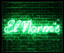 EL NORMS Neon Sign